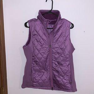 LL Bean Fleece-Lined Fitness Vest
